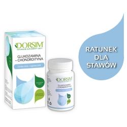 Glukozamina-Chondroityna z wit.E, selenem i dziką różą  ZDROWE KOŚCI